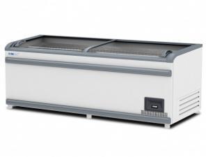 Ларь-бонета Italfrost ЛВН 2100 (ЛБ М 2100) серый верх. бампер